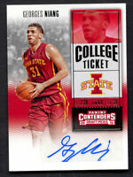 Georges Niang #157 signed autograph auto 2016 Panini Contenders Draft Picks Card