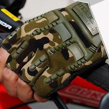 New Mens Motorcycle Outdoor Sport Cycling Gloves Half Finger Glove Mitten v2