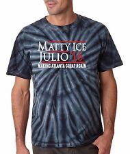 "Tie Dye Julio Jones Matt Ryan Atlanta Falcons ""Matty Ice Julio 2016"" T-shirt"