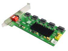 1:5 (5x1) Internal SATA II Port Multiplier (PM), Easy Dip Switch RAID Configurat