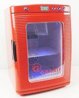 Minikühlschrank Kühlschrank 25L12v / 220V Innenbeleuchtung 2-60 Grad Camping KFZ
