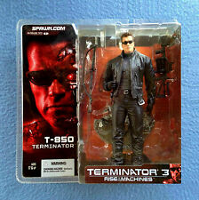 T-850 TERMINATOR WITH GUNS FIGURE TERMINATOR 3 RISE OF THE MACHINES MCFARLANE