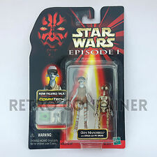 STAR WARS Kenner Hasbro Action Figure - EPISODE I - Ody Mandrell + Pit Droid
