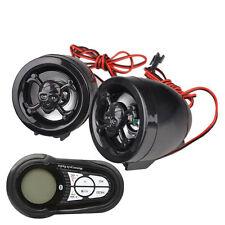 Universal 7 Colors Backlight Waterproof Motorcycle Audio Radio Mp3 USB Bluetooth