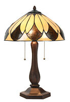 Art Deco Tiffany Table Lamp - large