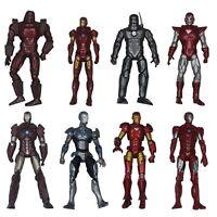"""8x Marvel Universe Iron Man 3.75"""" Action Figure Lot MK Suits Movie 1 2 3 Legends"""