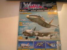 ** Wing Masters n°38 Fokker E.III Lockheed T-33 Bf 110G-2 Shenyang F-6