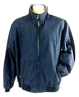 NEW L.L. Bean Men's Jacket Size Large Fully Lined Full Zip Dark Navy Blue