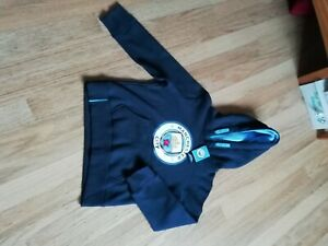 Manchester City hoodie age 6-7 new with tags