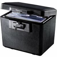 Fireproof File Document Storage Box Organizer Privacy Key Lock SentrySafe NEW