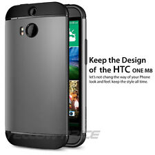 HTC One M8 Case Protective Case SF Coated Dual Layer for HTC One 2