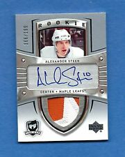 05-06 The Cup Alexander Steen Sweet Auto Patch Rookie Card RC #174 166/199 Rare