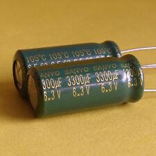 Sanyo 6.3v 3300uF Motherboard Capacitor x5PCS Japan New