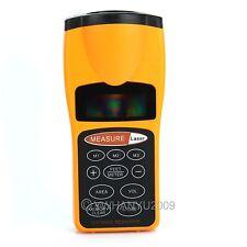 Ultrasónico Cinta Métrica Medidor De Distancia/Medidor & Laser Puntero Telémetro