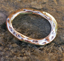 Signature Artisan Organic Oval LINK in Sterling Silver 180s