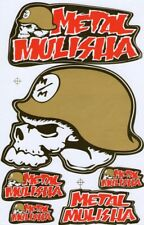 New Metal Mulisha Motocross Racing Graphic stickers/decals. 1 sheet (st87)