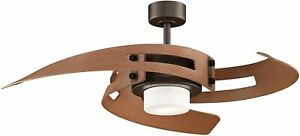 Avaston - 52 inch - Oil-Rubbed Bronze with Light Kit and Remote  - FP6210OB