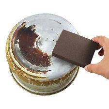 2pcs Magic Emery Sponge Eraser Brush Kitchen Pot Pan Dish Bowl Cleaning Tools