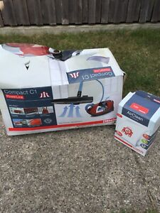 MIELE Compact C1 HomeCare PowerLine White Canister Vacuum SCAE0 + 4 Bags