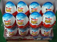 6 X * garçon * - Chocolat Kinder Joy SURPRISE Œufs Surprise Cadeau à l'intérieur Kids Free 1 TIC TAC