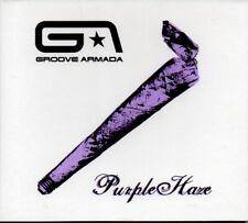 GROOVE ARMADA - PURPLE HAZE - VIDEO ENHANCED CD SINGLE - DIGIPAK COVER - MINT