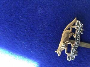 Queens Own Yeomanry Bi Metal Cap Badge Gaunt London