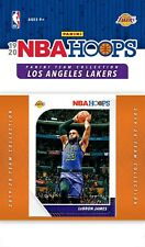 2019-20 HOOPS LAKERS Factory Team Set Anthony Davis Lebron James Kuzma Rondo