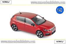 Peugeot 308 de 2017 Ultimate Red  NOREV - NO 473815 - Echelle 1/43