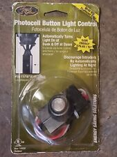 1 Outdoor Auto Dusk To Dawn Electric Photocell Button Light Control Sensor New