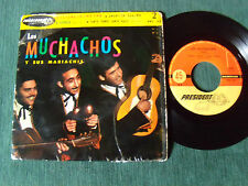"LOS MUCHACHOS y sus mariachis : Espana en cha cha 7"" EP 1959 PRESIDENT PRC 155"