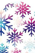 20 water slide DIY Manicure Christmas purple blue pink  snowflake  full nail