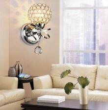 Modern E27 Crystal Ball Light Wall Chandelier Aisle Hallway Lamp Home Decor Bar