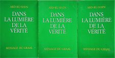 Dans la lumière de la vérité - Message du graal - 3 tomes - Abd-Ru-Shin - 1991