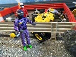 Scalextric Custom Painted Pit Crew Mechanics Team Boss 1:32 Slot Car Racing