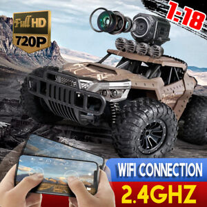 AU Remote Control Off-Road RC Car Wifi Electric Monster Truck Connection VR