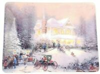 Thomas Kinkade 1997 Home for the Holidays Collector Plate 10162A Very Good Cond