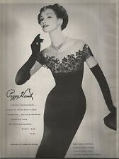 50's Peggy Hunt Fashion Ad  1957
