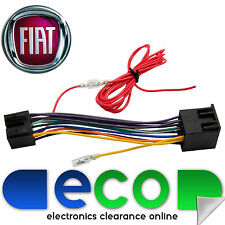 fiat grande punto car stereo radio iso wiring harness adaptor lead t1-pe09