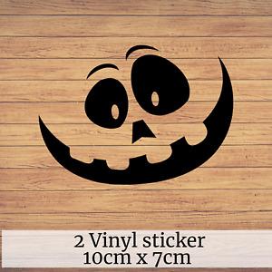 Halloween window decor/ wall decals stickers Pumpkin Vinyl Sticker Decal