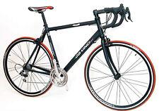 Rennrad Da Vinci 27 Gang Campagnolo - 55  für KG 173 bis 182 cm schwarz matt