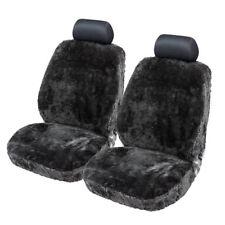 Lammfellbezug Auto Sitzbezug Sitzbezüge Lammfell Fellbezug Fell schwarz