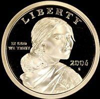 2006 S Native American Sacagawea Dollar Gem Deep Cameo PROOF US Mint Coin $