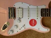 Fender Squier Strat HSS Loaded Pickguard Pickups + Prewired Stratocaster