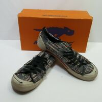 Rocket Dog Womens Country Plaid Dockside Slip on Flat Shoes Size 8M Multi Color