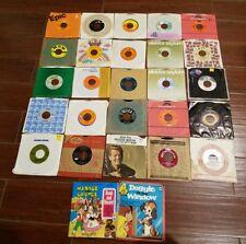 27 45 RPM records 1950 60 70 80