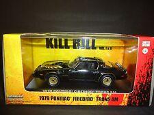 Greenlight Pontiac Firebird Trans Am 1979 Kill Bill 1/43