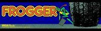 Frogger Arcade Marquee – 26″ x 8″