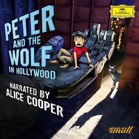 PETER AND THE WOLF IN HOLLYWOOD (ENGL.VERSION)  CD NEU PROKOFIEFF,SERGEJ