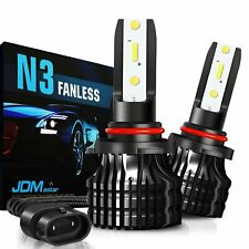 JDM ASTAR 2x 8000LM N3 9006 HB4 Mini White LED Headlight Fog Driving Light Bulbs