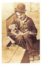 Nostalgia Postcard Actor Charlie Chaplin (1889-1977) Reproduction Card NS50
